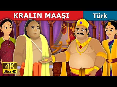 KRALIN MAAŞI | The Salary Of King Story | Türkçe Peri Masallar