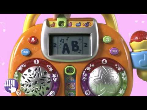 Vtech Kidi Karaoke Toy Youtube