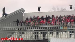 Уфа - Спартак 11.11.2018, суппорт фанатов Спартака