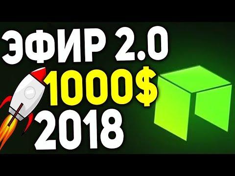 Стоимость Китайского Эфира NEO в 2018 достигнет цены в 1000 $ ! NEO 2018 ПРОГНОЗ