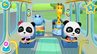 Download ❤ Little Panda School Bus | Go Shopping | Kids Cartoon | Kids Videos | BabyBus Game