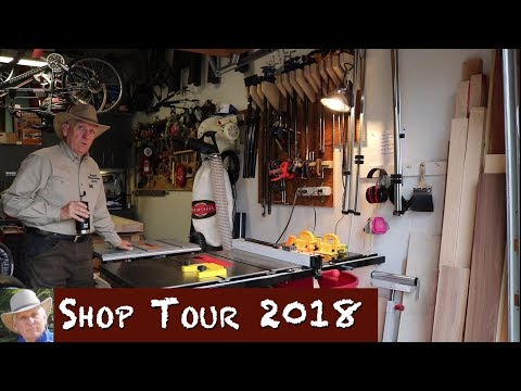 Workshop Tour 2018 - Small Workshop Guy