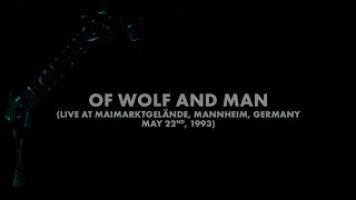 Metallica: Of Wolf and Man (Mannheim, Germany - May 22, 1993) (Audio Preview)