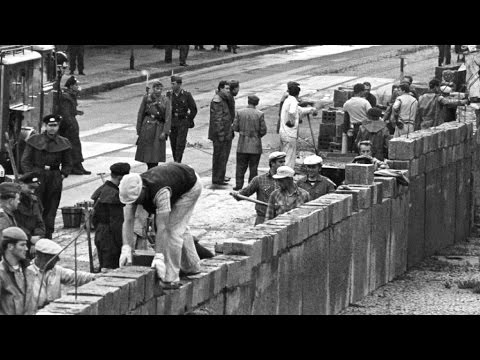 Am 13. August 1961 wurde die Berliner Mauer gebaut