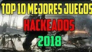 Top 10 juegos hackeados para tu móvil Android//ANGEL HACKS
