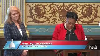 Senators Theis, Santana condemn riots with Senate Resolution 122