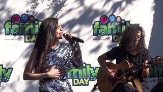 Sofia Carson - Love Yourself Cover (Family Day LA 10/7/17)