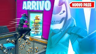 "Shoppo ALL the ""NEW"" Battle Pass if COMPLETE This DEATHRUN! Fortnite ITA!"