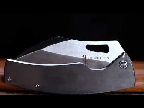 The ONA Chef knife on the Go! Middleton Made Knives
