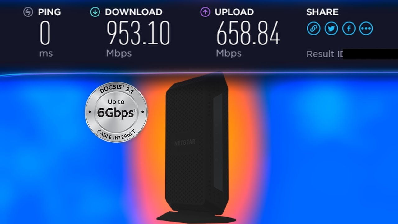 THE BEST MODEM FOR GAMING!!!