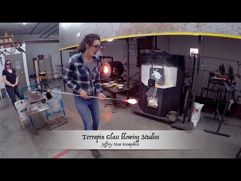 Terrapin Glassblowing Studio Jafffrey New Hampshire 2018