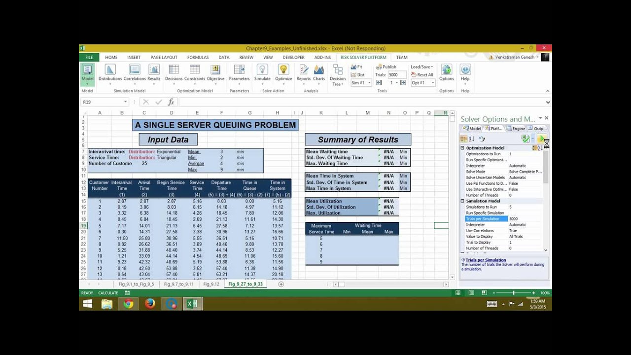 developing spreadsheet based decision support systems video fig 927 to 933