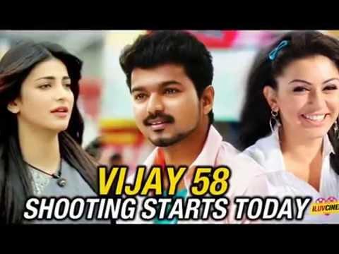Vijay in Puli Shooting Spot | Puli Songs | puli theme | tamil movie review