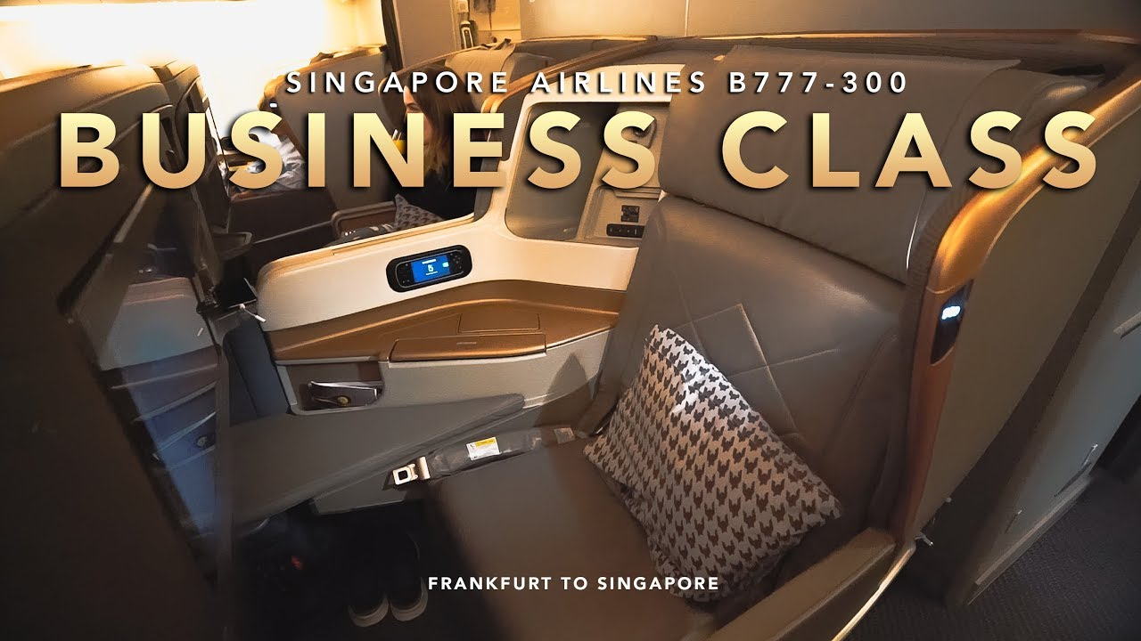 NEW Singapore B777-300 business class review - how good is it?