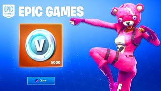 How To Get FREE V BUCKS In Fortnite 2019.. (Free V Bucks Reward) [PS4, Xbox One, Mobile, PC]
