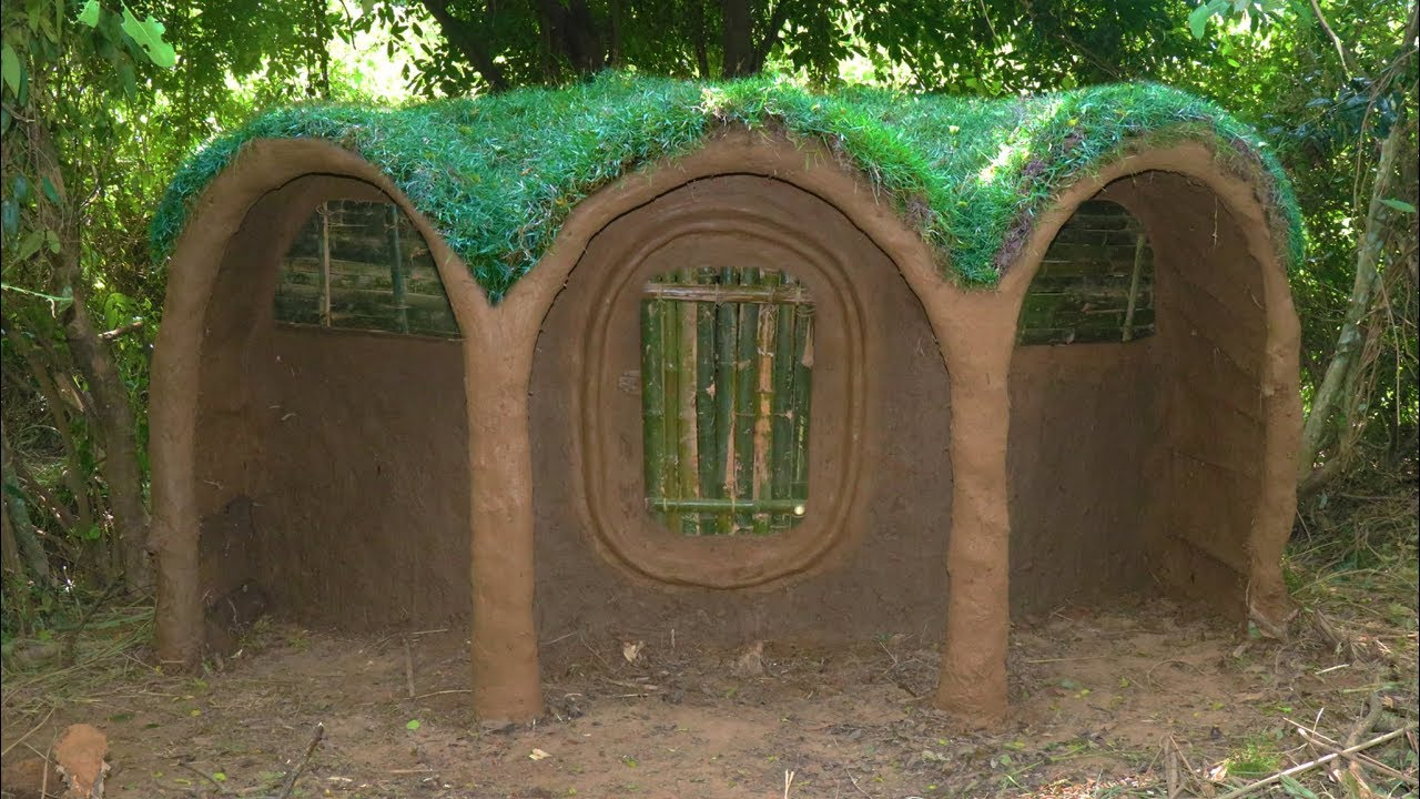 Make Door Window and Bed for Hobbit House