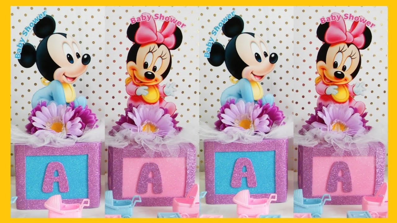 Decoracion De Baby Mickey Mouse Para Baby Shower