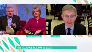 Simon Calder Is Thankful for His Package Holiday! | This Morning