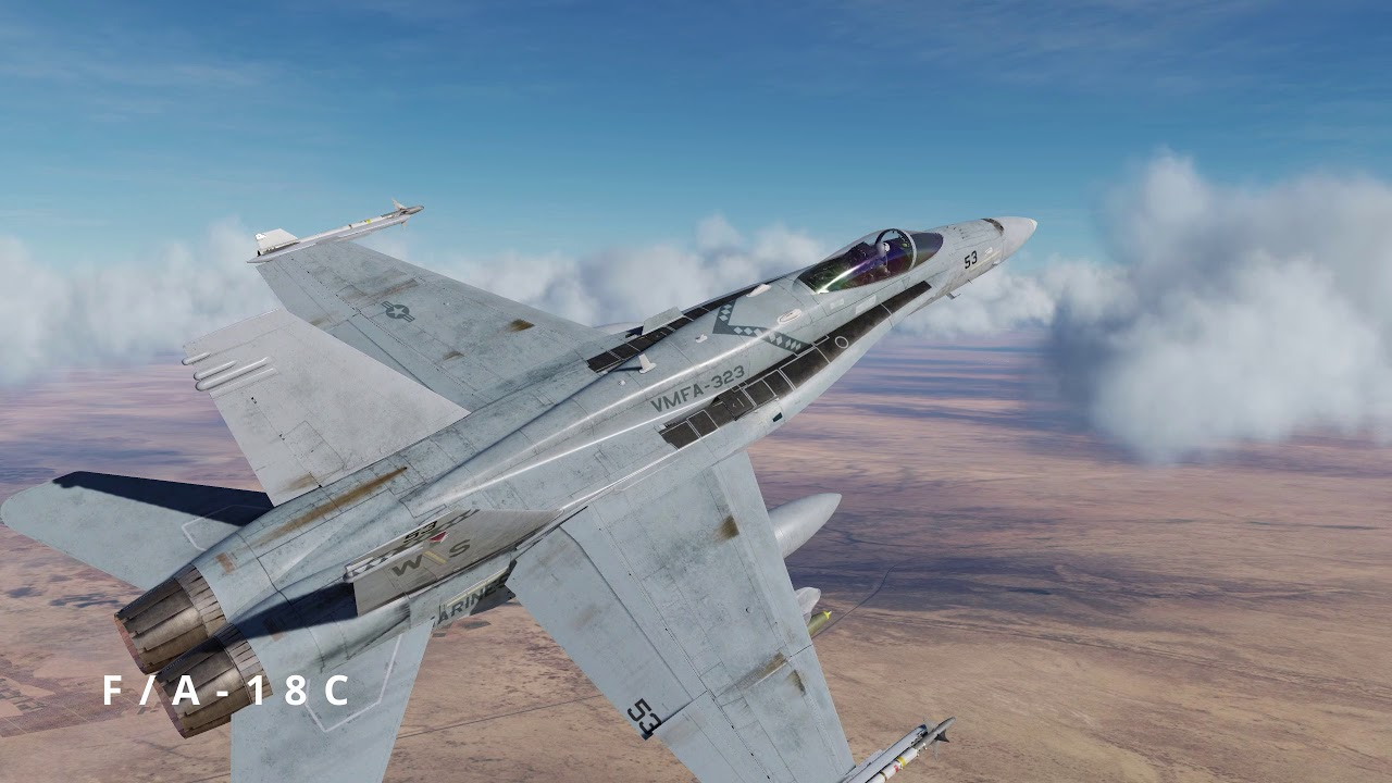 All DCS Aircraft at the start of 2021
