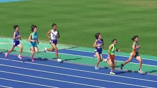 2018年度 全中通信陸上 兵庫県大会 共通女子800m決勝