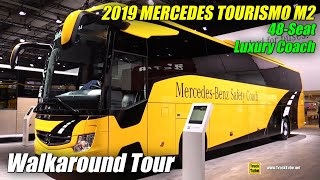 2019 Mercedes Tourismo M2 48-Seat Coach - Exterior and Interior Walkaround - 2018 IAA Hannover