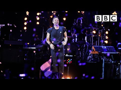 Coldplay - A Sky Full Of Stars at BBC Music Awards 2014
