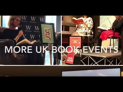 More UK Book Events