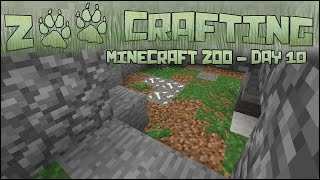 Zoo Crafting! Carving Out the Red Wolf Den! Episode #11 | Season 2