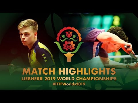 Truls Moregard vs Niall Cameron | 2019 World Championships Highlights (Group)