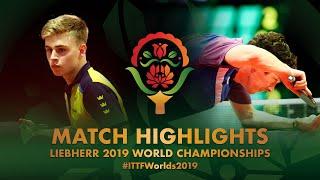 Truls Moregard vs Niall Cameron | 2019 World Championships Highlights (Group)