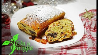 ПП Рождественский кекс с сухофруктами и орехами. Еда и Фигура.