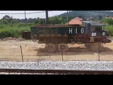 [KTM Track Rehabilitation Work] KTM Class 92 Komuter Train Ride From Kuang To KL Sentral