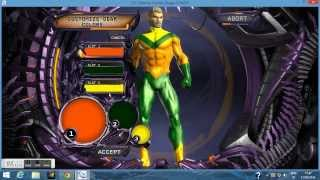 Dc Universe Online - AquaMan Character Creation