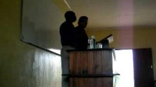 Preaching in Venda
