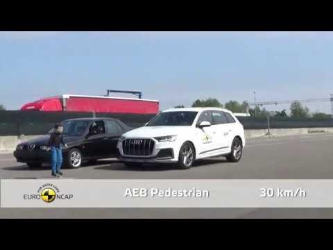 Euro NCAP Crash & Safety Tests Of Audi Q8 2019