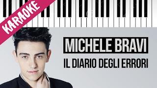Michele Bravi   Il Diario Degli Errori   Sanremo 2017   Karaoke Piano Con Testo