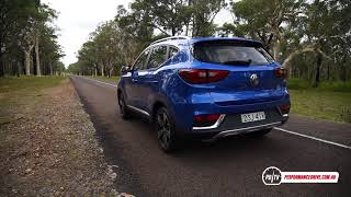 2018 MG ZS (1.0T 3CYL) 0-100km/h & engine sound