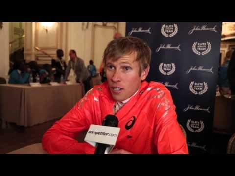Ryan Hall: 2014 Boston Marathon Press Conference