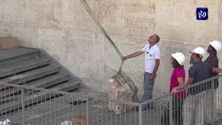 الأردن يدين إقامة الاحتلال أعمدة خشبية وهياكل معدنية قرب حائط البراق - (18-1-2019)