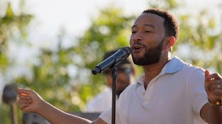 John Legend Performs 'I Do' - John Legend and Family: A Bigger Love Father's Day