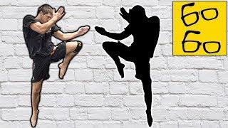 Бой с тенью в тайском боксе! 10 заданий для новичков и опытных бойцов — муай тай с Виталием Дунцом