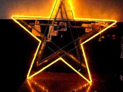 Stella Luminosa Di Natale.Come Costruire Una Stella Di Natale In Legno Frismarketingadvies