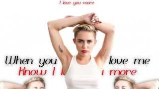 Miley Cyrus - Adore You (Lyric Video)