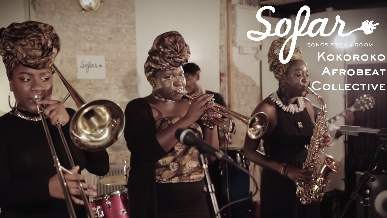 Kokoroko Afrobeat Collective - Colonial Mentality   Sofar London