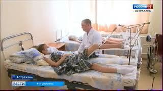 В Астраханской области участились случаи выпадения детей из окон