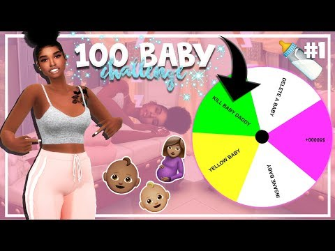 SIMS 4 100 BABY CHALLENGE with A TWIST #1 *NEW LP*