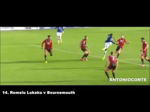 Romelu Lukaku   All 25 Goals for Everton 2016 2017
