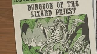 Lets Co Op Cardhunter 5 - Dungeon Of The Lizard Priest