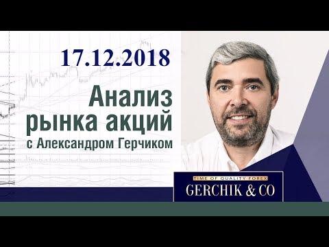 Анализ акций 17.12.2018 ✦ Фондовый рынок США и ЕВРОПЫ ✦ Лучший анализ Александра Герчика
