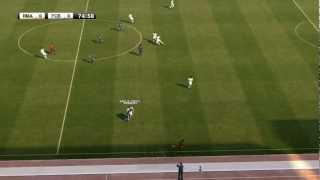 PES 2012 - Gameplay - Real Madrid 1 - Barcelona 0